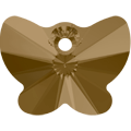 Swarovski Pendant 6754 - 18mm, Crystal Bronze Shade (001 BRSH), 1pcs
