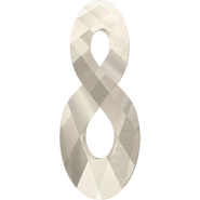 Swarovski Pendant 6792 - 18mm, Crystal Silver Shade (001 SSHA), 2pcs