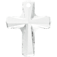 Swarovski Pendant 6860 - 12x10mm, Crystal (001), 2pcs