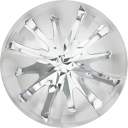 Swarovski Round Stone 1695 - 14mm, Crystal (001) Foiled, 2pcs