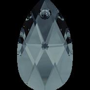 Swarovski Pendant 6106 - 22mm, Graphite (253), 2pcs