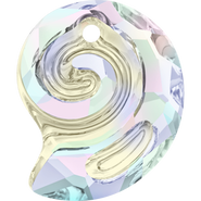 Swarovski Pendant 6731 - 28mm, Crystal Aurore Boreale (001 AB), 1pcs