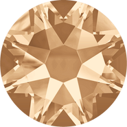 Swarovski Flatback 2088 - ss16, Crystal Golden Shadow (001 GSHA) Foiled, No Hotfix, 36pcs