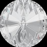 Swar Crystal Button 3015 - 27mm, Crystal (001) Foiled, 1pcs