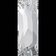 Swarovski Sew-on 3255 - 26x8.5mm, Crystal (001) Foiled, 1pcs