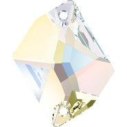 Swarovski Sew-on 3265 - 26x21mm, Crystal Aurore Boreale (001 AB) Foiled, 1pcs