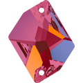 Swarovski Sew-on 3265 - 26x21mm, Crystal Volcano (001 VOL) Foiled, 1pcs