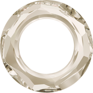 Swarovski Fancy Stone 4139 - 20mm, Crystal Silver Shade (001 SSHA) Unfoiled, 1pcs