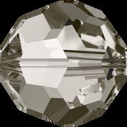 Swarovski Bead 5000 - 14mm, Crystal Satin (001 SAT), 2pcs