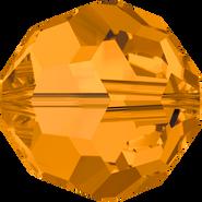 Swar Crystal Bead 5000 - 4mm, Topaz (203), 48pcs