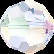 Swarovski Bead 5000 - 8mm, Crystal Aurore Boreale (001 AB), 12pcs