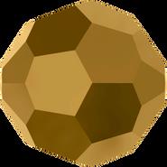 Swarovski Bead 5000 - 8mm, Crystal DoradoX2 (001 DORX2), 12pcs