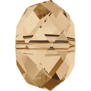 Swarovski Bead 5040 - 18mm, Crystal Golden Shadow (001 GSHA), 1pcs