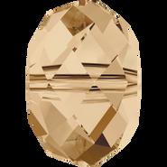 Swarovski Bead 5040 - 18mm, Crystal Golden Shadow (001 GSHA), 1pc