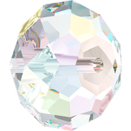 Swarovski Bead 5040 - 4mm, Crystal Aurore Boreale (001 AB), 20pcs