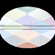 Swarovski Bead 5050 - 14x10mm, Crystal Aurore Boreale (001 AB), 2pcs