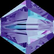 Swar Crystal Bead 5328 - 4mm, Crystal Heliotrope (001 HEL), 48pcs