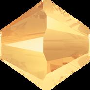 Swarovski Bead 5328 - 4mm, Crystal Metallic Sunshine (001 METSH), 48pcs