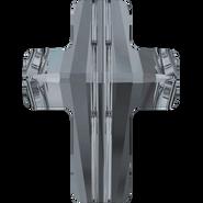 Swarovski Bead 5378 - 14mm, Crystal Silver Night (001 SINI), 2pcs