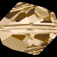 Swarovski Bead 5523 - 16mm, Crystal Golden Shadow (001 GSHA), 2pcs