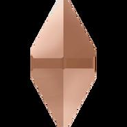 Swarovski Bead 5747 - 12x6mm, Crystal Rose Gold 2x (001 ROGL2), 6pcs
