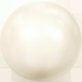 Swarovski Crystal Pearl 5810 - 10mm, Crystal Creamrose Pearl (001 621), 1pcs