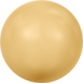 Swarovski Crystal Pearl 5810 - 4mm, Crystal Gold Pearl (001 296), 100pcs