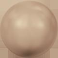 Swarovski Crystal Pearl 5810 - 6mm, Crystal Bronze Pearl (001 295), 100pcs