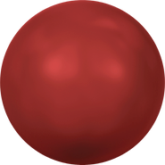 Swarovski Crystal Pearl 5810 - 6mm, Crystal Red Coral Pearl (001 718), 100pcs