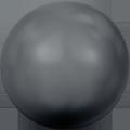 Swarovski Crystal Pearl 5810 - 8mm, Crystal Black Pearl (001 298), 50pcs