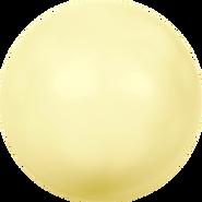 Swarovski Crystal Pearl 5810 - 8mm, Crystal Pastel Yellow Pearl (001 945), 50pcs