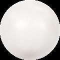 Swarovski Crystal Pearl 5810 - 8mm, Crystal White Pearl (001 650), 50pcs
