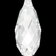 Swarovski Pendant 6010 - 11x5.5mm, Crystal (001), 4pcs
