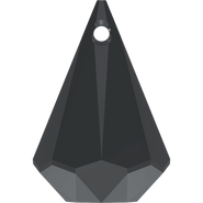 Swarovski Pendant 6022 - 24mm, Jet (280), 1pcs
