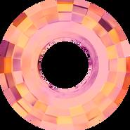 Swar Pendant 6039 - 25mm, Crystal Astral Pink (001 API), 1pc
