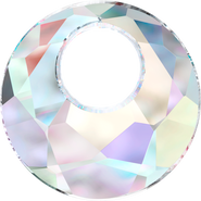 Swarovski Pendant 6041 - 28mm, Crystal Aurore Boreale (001 AB), 1pcs