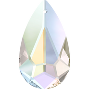 Swarovski Pendant 6100 - 24x12mm, Crystal Aurore Boreale (001 AB), 1pcs