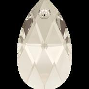 Swarovski Pendant 6106 - 38mm, Crystal Silver Shade (001 SSHA), 1pcs