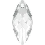 Swarovski Pendant 6110 - 30x14mm, Crystal (001), 1pcs