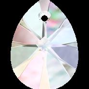 Swarovski Pendant 6128 - 10mm, Crystal Aurore Boreale (001 AB), 6pcs