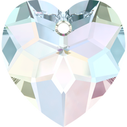 Swarovski Pendant 6215 - 18mm, Crystal Aurore Boreale (001 AB), 1pcs