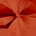 Swar Pendant 6228 - 40mm, Crystal Red Magma (001 REDM), 1pcs