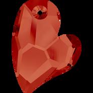Swarovski Pendant 6261 - 17mm, Crystal Red Magma (001 REDM), 1pcs