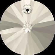Swarovski Pendant 6428 - 6mm, Crystal Silver Shade (001 SSHA), 20pcs