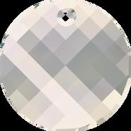 Swarovski Pendant 6621 - 28mm, Crystal Moonlight (001 MOL), 1pcs