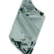 Swarovski Pendant 6650 - 22mm, Black Diamond (215), 1pcs