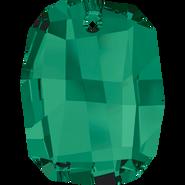 Swarovski Pendant 6685 - 28mm, Emerald (205), 1pcs