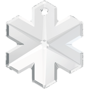 Swar Crystal Pendant 6704 - 25mm, Crystal (001), 1pcs