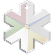 Swarovski Pendant 6704 - 25mm, Crystal Aurore Boreale (001 AB), 1pcs