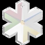 Swarovski Pendant 6704 - 30mm, Crystal Aurore Boreale (001 AB), 1pcs